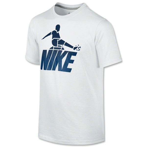 Nike Sliderman Youth T-Shirt (White)