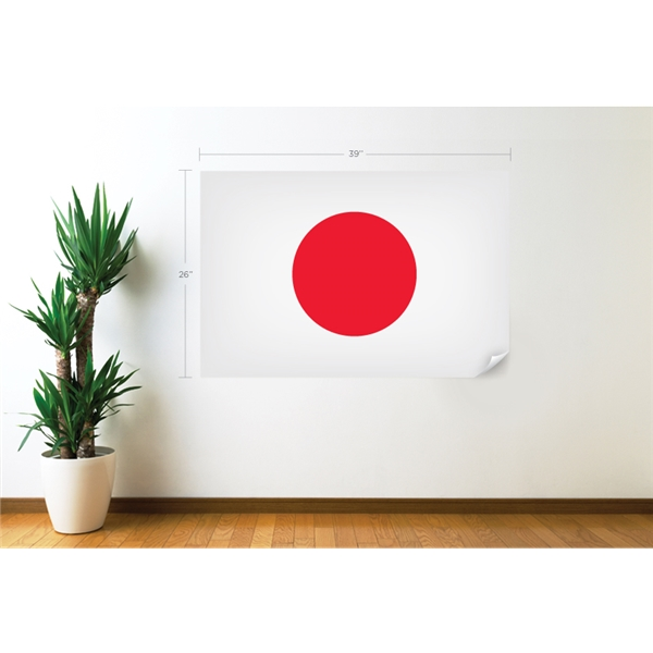 Japan Flag Wall Decal