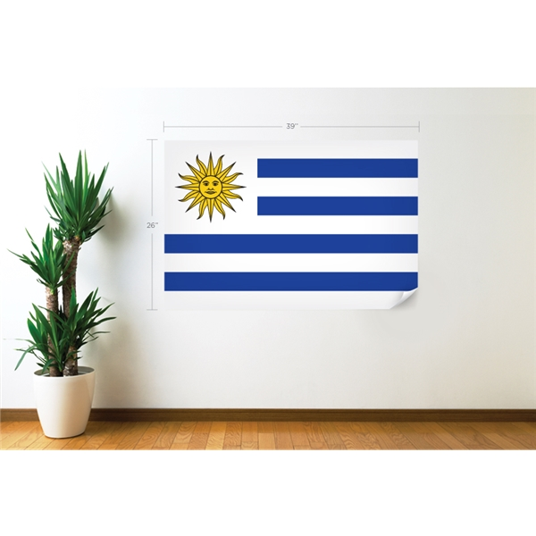Uruguay Flag Wall Decal