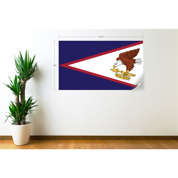 American Samoa Flag Wall Decal