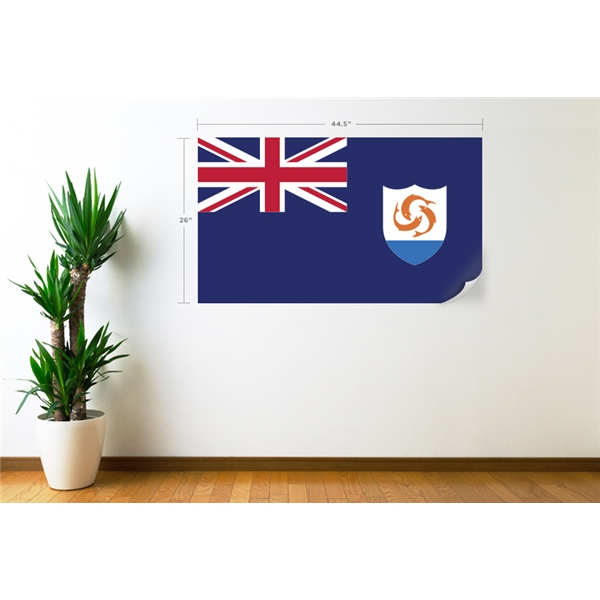 Anguilla Flag Wall Decal