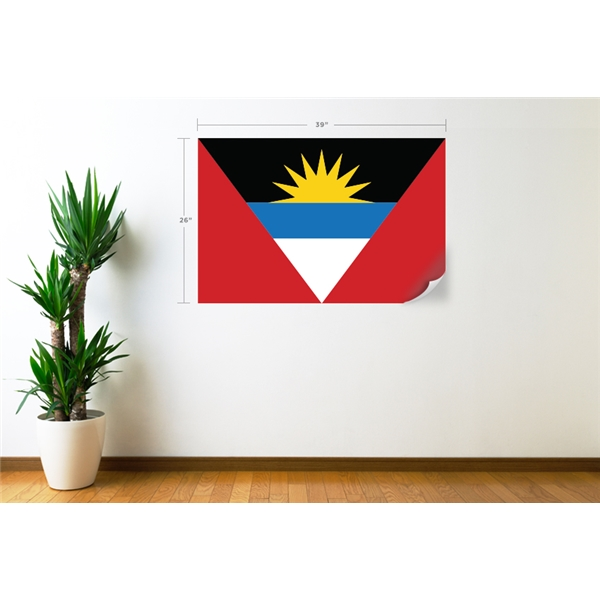 Antigua & Barbuda Flag Wall Decal