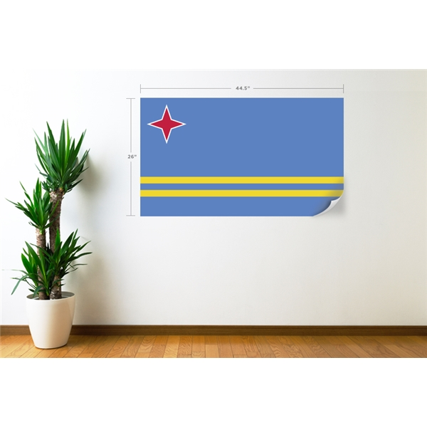 Aruba Flag Wall Decal
