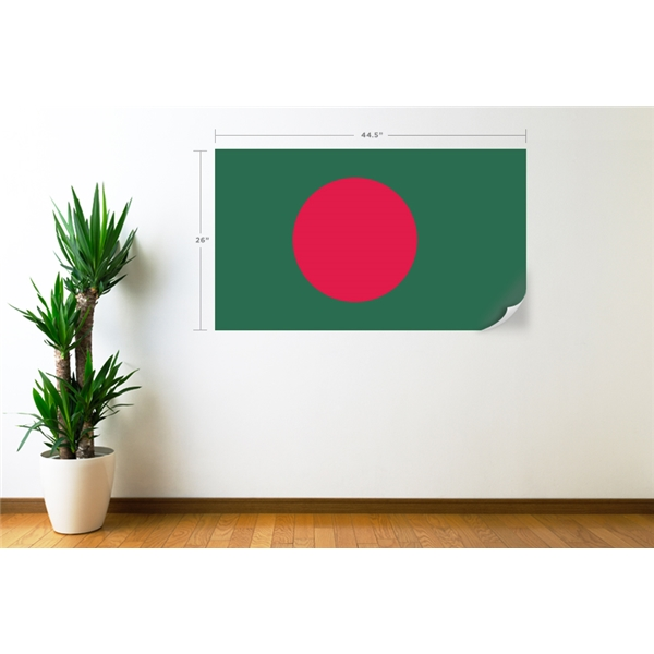 Bangladesh Flag Wall Decal
