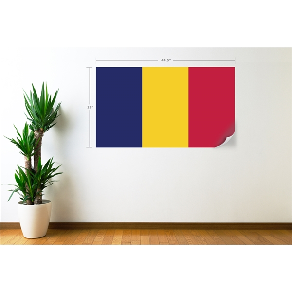 Chad Flag Wall Decal