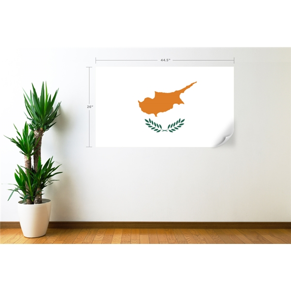 Cyprus Flag Wall Decal