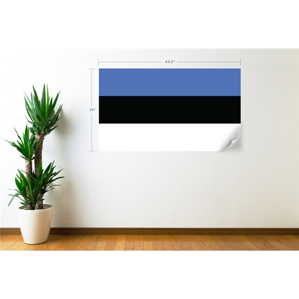 Estonia Flag Wall Decal