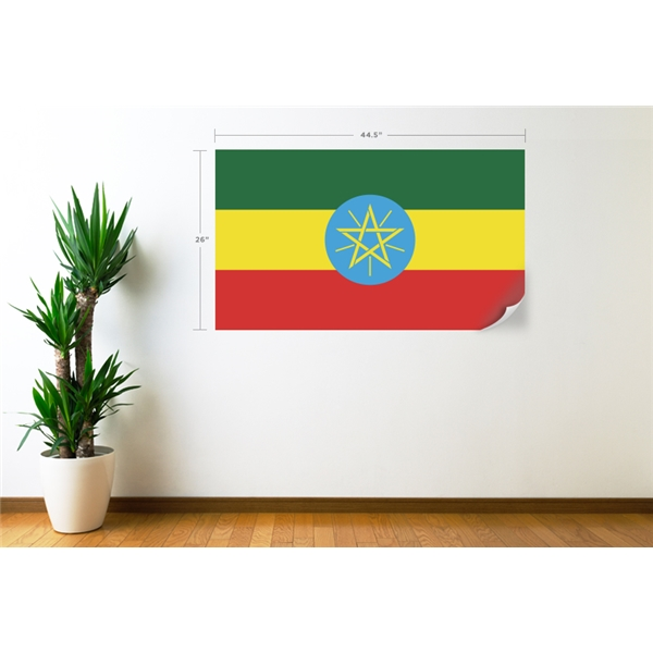 Ethiopia Flag Wall Decal