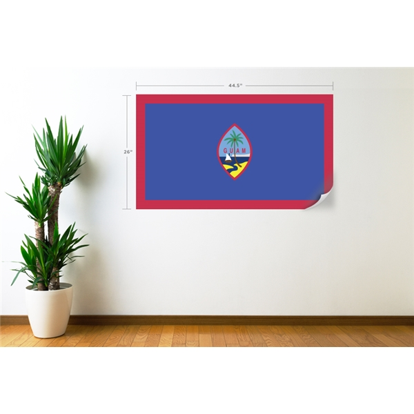 Guam Flag Wall Decal