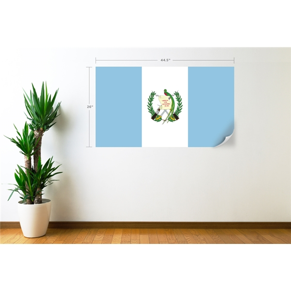 Guatemala Flag Wall Decal
