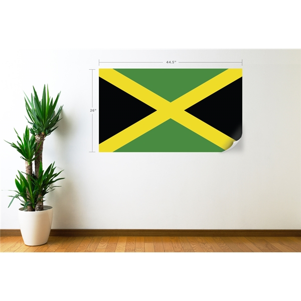 Jamaica Flag Wall Decal