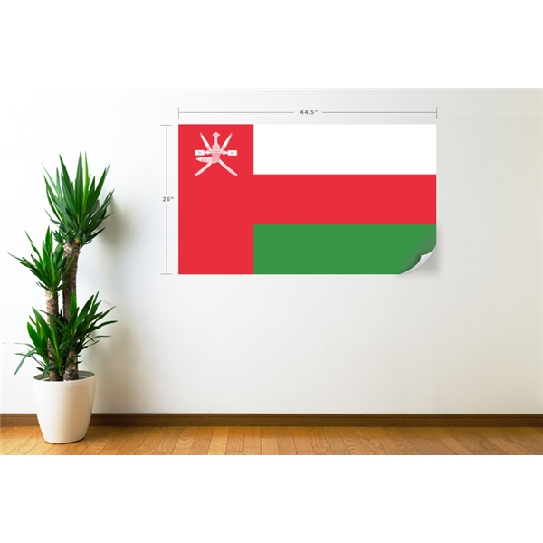 Oman Flag Wall Decal