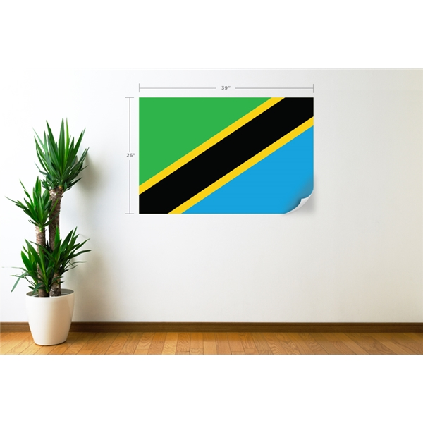 Tanzania Flag Wall Decal