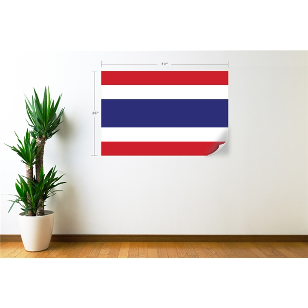 Thailand Flag Wall Decal