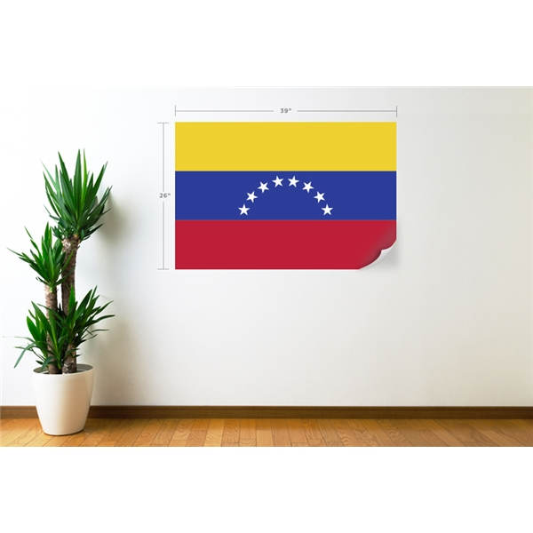 Venezuela Flag Wall Decal