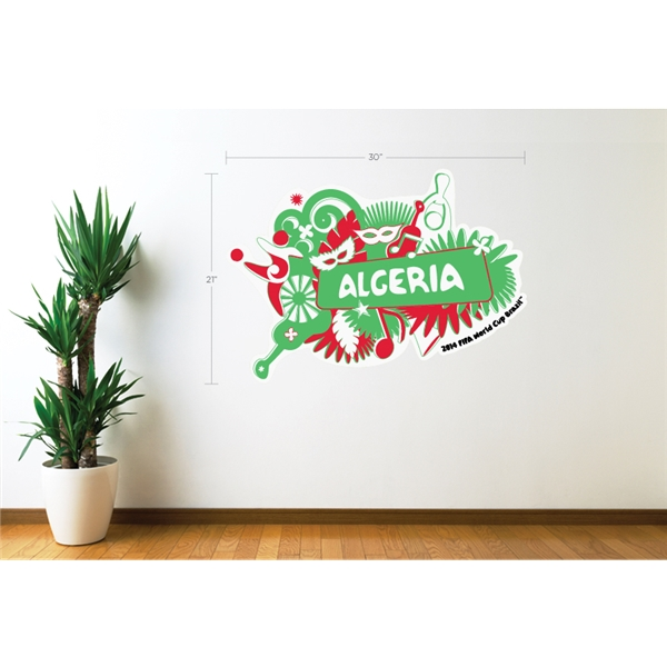 Algeria 2014 FIFA World Cup Celebration Wall Decal