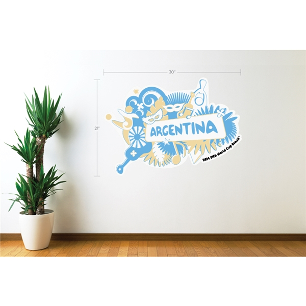 Argentina 2014 FIFA World Cup Celebration Wall Decal
