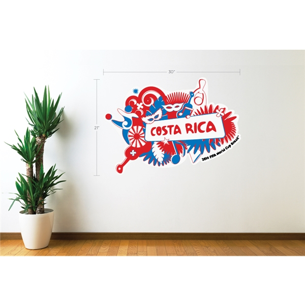 Costa Rica 2014 FIFA World Cup Celebration Wall Decal