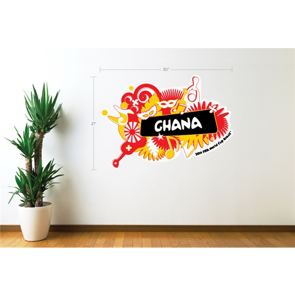 Ghana 2014 FIFA World Cup Celebration Wall Decal