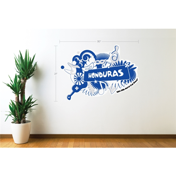 Honduras 2014 FIFA World Cup Celebration Wall Decal
