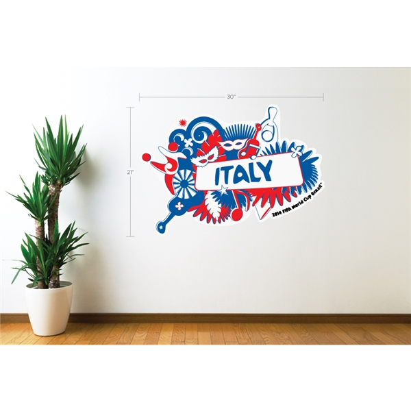 Italy 2014 FIFA World Cup Celebration Wall Decal