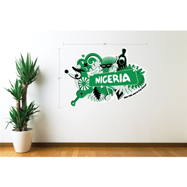 Nigeria 2014 FIFA World Cup Celebration Wall Decal