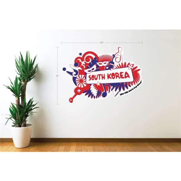 South Korea 2014 FIFA World Cup Celebration Wall Decal