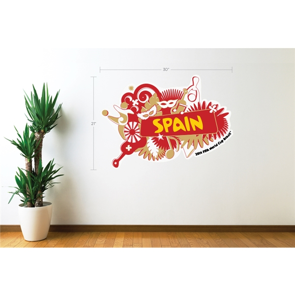 Spain 2014 FIFA World Cup Celebration Wall Decal