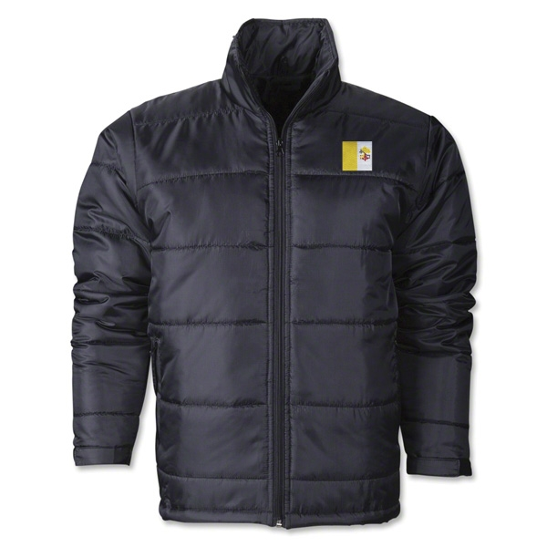 Vatican City Flag Polyfill Puffer Jacket