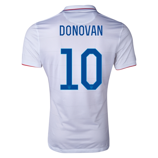 USA 14/15 DONOVAN Authentic Home Soccer Jersey