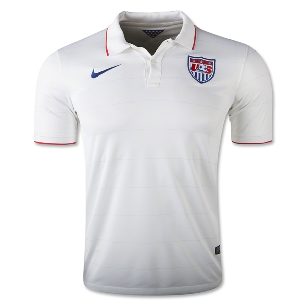 USA 14/15 Home Soccer Jersey