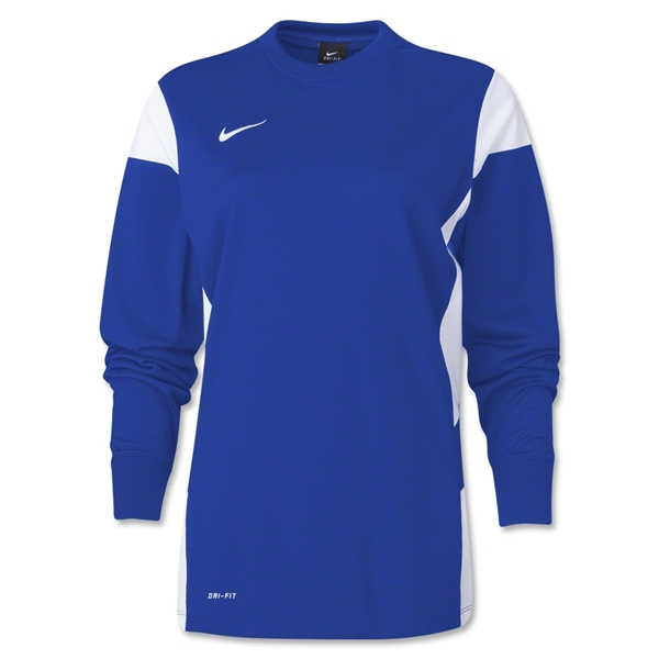 Nike Women's Long Sleeve Academy 14 Midlayer (Roy/Wht)