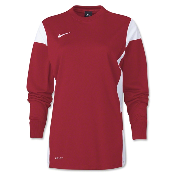 Nike Women's Long Sleeve Academy 14 Midlayer (Sc/Wh)