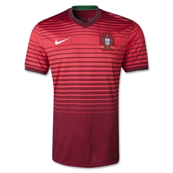 Portugal 2014 Home Soccer Jersey