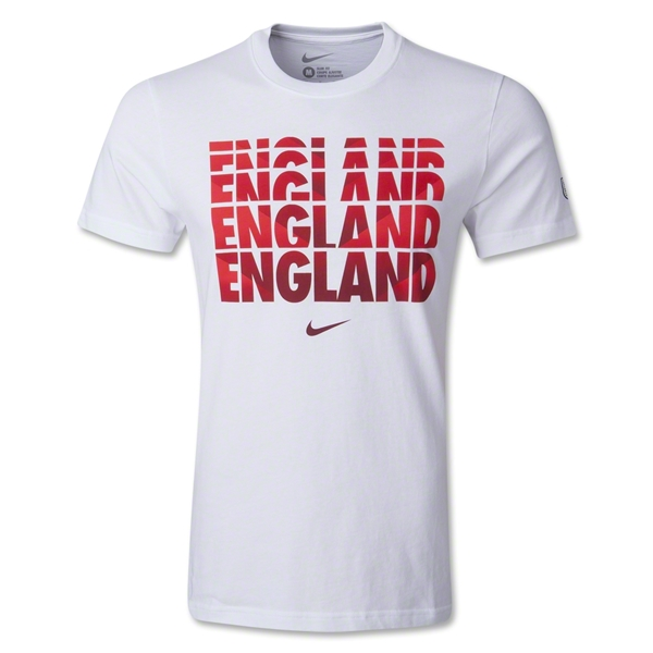 England Core Type T-Shirt 2014