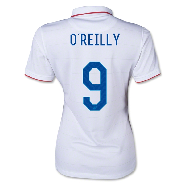 USA 14/15 O'REILLY Women's Home Soccer Jersey