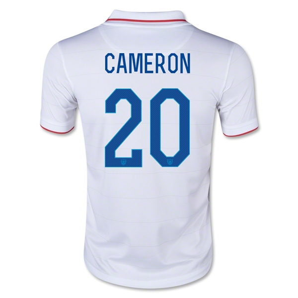 USA 14/15 CAMERON Youth Home Soccer Jersey