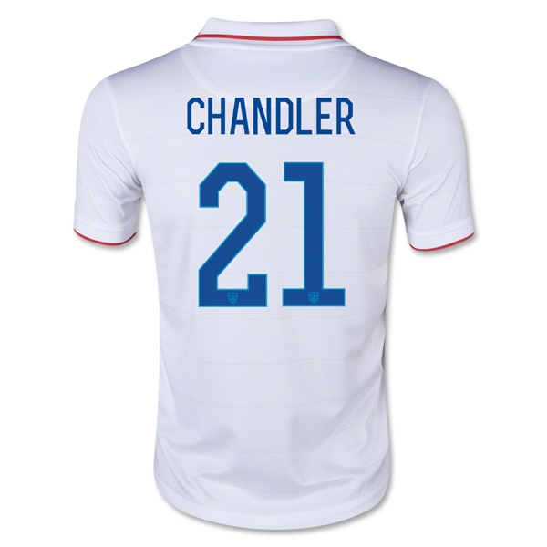 USA 2014 CHANDLER Youth Home Soccer Jersey
