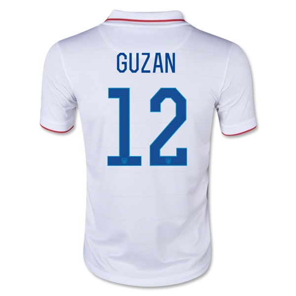 USA 14/15 GUZAN Youth Home Soccer Jersey