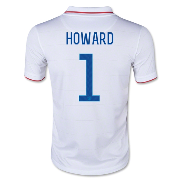 USA 14/15 HOWARD Youth Home Soccer Jersey