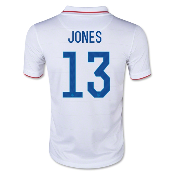 USA 2014 JONES Youth Home Soccer Jersey