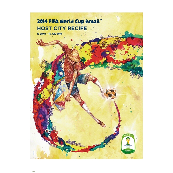 Recife 2014 FIFA World Cup Brazil(TM) Host City Poster