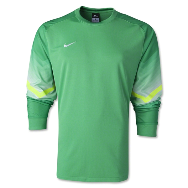 Nike Long Sleeve Goleiro Jersey (Green)