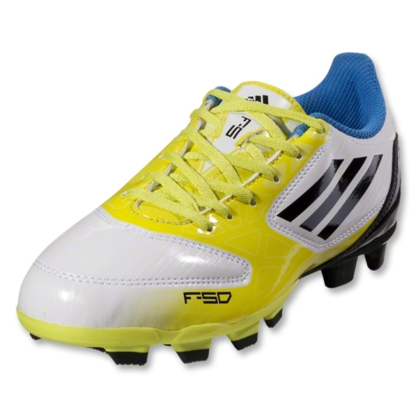 adidas F5 TRX FG Junior (Running White/Lab Lime/Tech Onix)