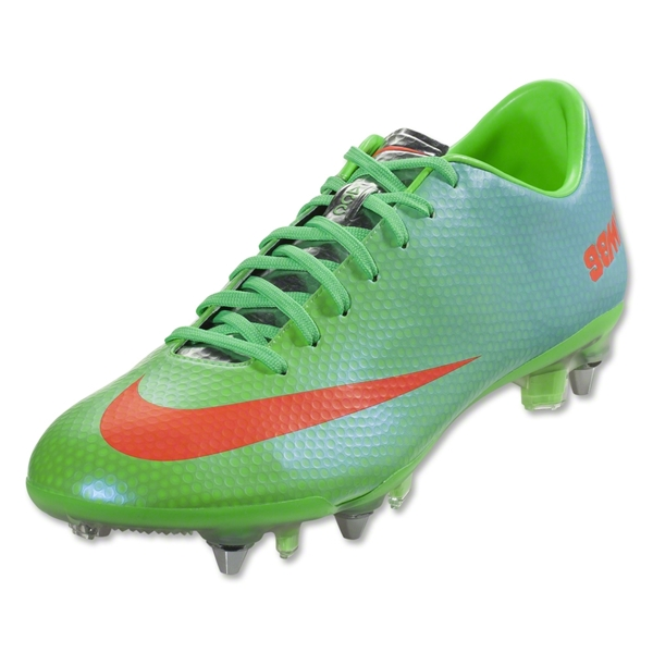 Nike Mercurial Vapor IX SG Pro (Neo Lime/Metallic Silver/Polarized Blue/Total Crimson)