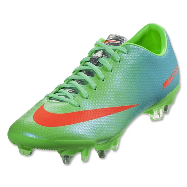 Nike Mercurial Veloce SG Pro (Neo Lime/Metallic Silver/Polarized Blue/Total Crimson)