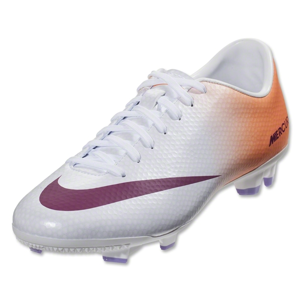 Nike Mercurial Victory IV FG Women's Cleats (Atomic Pink/Aractic Green-Atomic Red)