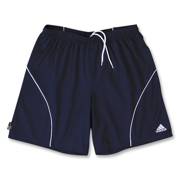 adidas Women's Striker Soccer Shorts (Navy/White)