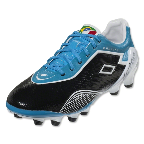 Lotto Zhero Gravity IV 200 FG (Black/Cyan Blue/White)