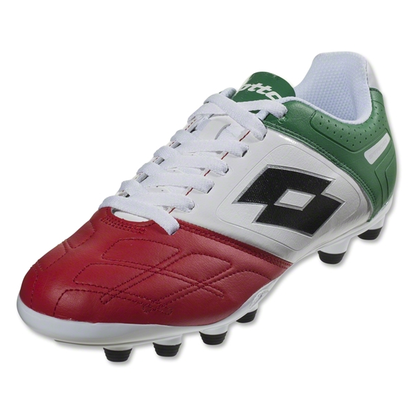 Lotto Stadio Potenza IV 700 FG (White/Green/Red)